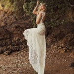 18 Romantic Bomemian Chic Summer Wedding Dresses for The Modern Boho Princess