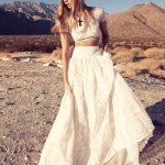 21 Stylish Two Piece Summer-Beach Wedding Dresses