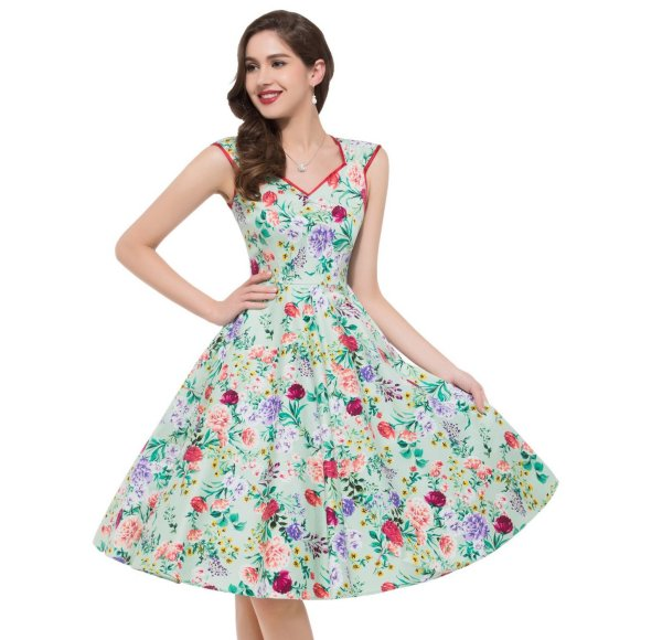 8 Cute u0026 Inexpensive Vintage Summer Dresses By Grace Karin