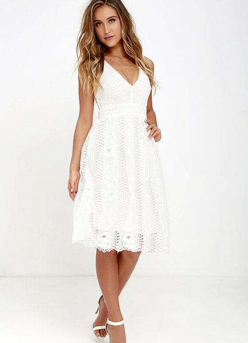 Cute White Summer Dresses All Dress