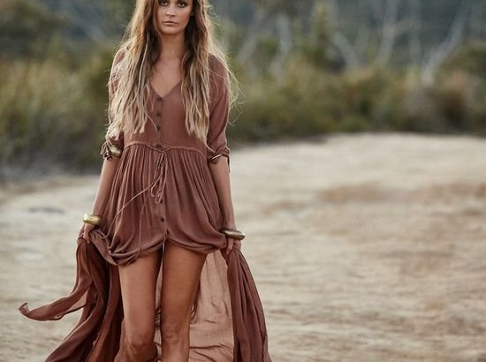 rusty long boho summer dresses spellsdedigns