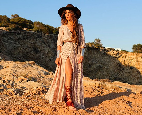 striped boho long summer dresses madamederosa spells