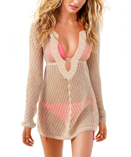 Sexy crochet cover up